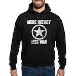 More Hockey Less War Hoodie (dark)