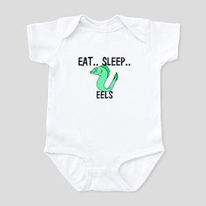 Eat ... Sleep ... EELS Infant Bodysuit