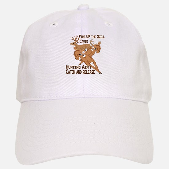 Fire Up the Grill Baseball Baseball Cap