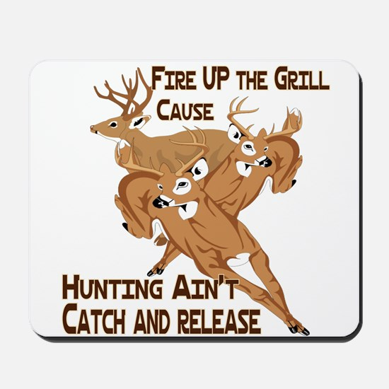 Fire Up the Grill Mousepad