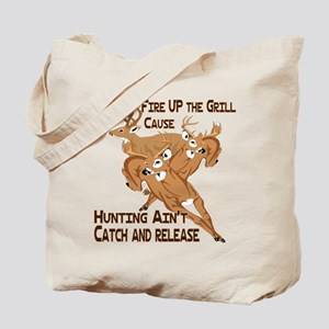 Fire Up the Grill Tote Bag