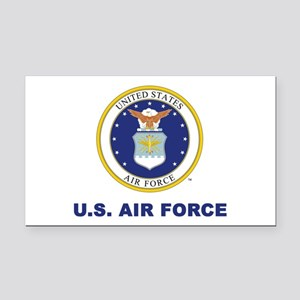 U.S. Air Force Rectangle Car Magnet