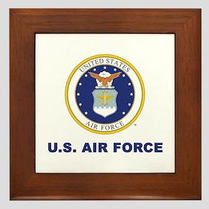 U.S. Air Force Framed Tile