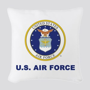 U.S. Air Force Woven Throw Pillow