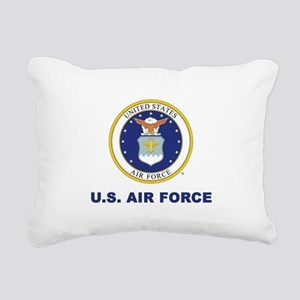 U.S. Air Force Rectangular Canvas Pillow