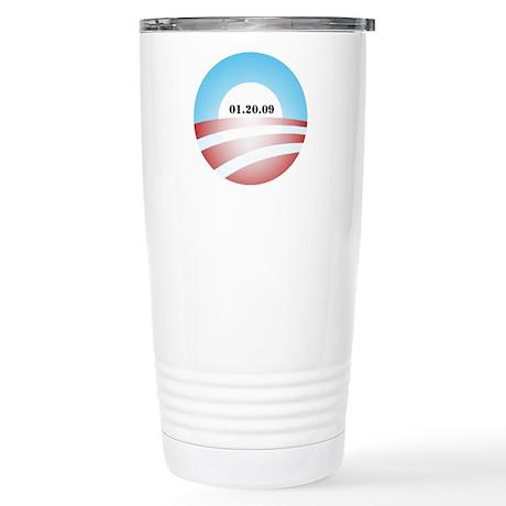 Obama Inauguration Logo 01.20 Stainless Steel Trav
