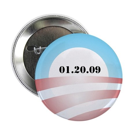 "Obama Inauguration Logo 01.20 2.25"" Button (100 pa"