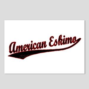 American Eskimo Varisty Postcards (Package of 8)