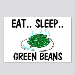 Eat ... Sleep ... GREEN BEANS Postcards (Package o