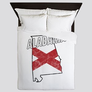 Patriotic Alabaman Alabama Flag Nation Queen Duvet