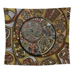 Celtic Steampunk Wall Tapestry