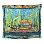 Tie-Dye Turtle Wall Tapestry