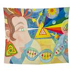 Creation Myth Abstract Wall Tapestry