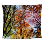 Autumns Trees Painting Wall Tapestry