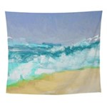 Ocean Vigor Wall Tapestry