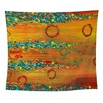 Fiesta Abstract Wall Tapestry