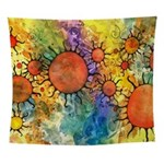 Primordial Suns 2 Wall Tapestry