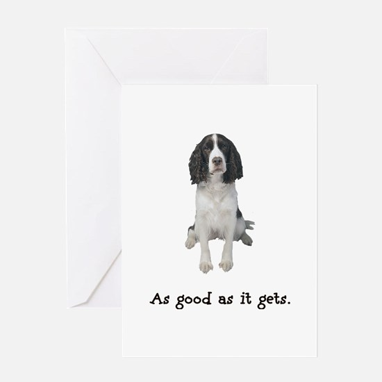 Good Springer Spaniel Greeting Card