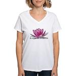 Surya Namaskar Women's V-Neck T-Shirt