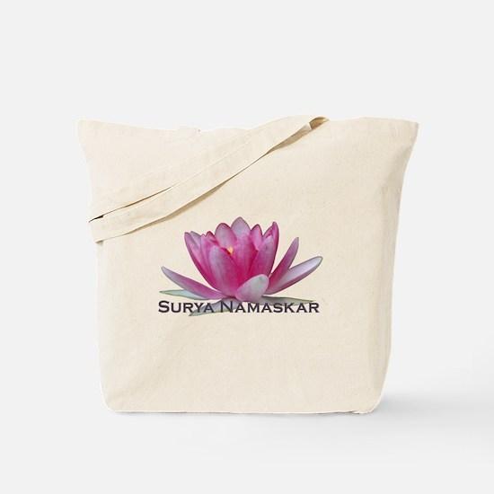 Surya Namaskar Tote Bag