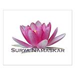 Surya Namaskar Small Poster