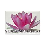 Surya Namaskar Rectangle Magnet (10 pack)