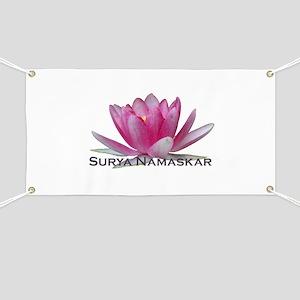 Surya Namaskar Banner