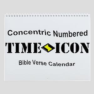 TimeIcon 1st Bible Verse Wall Calendar