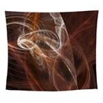 Radiant Heat Fractal Wall Tapestry