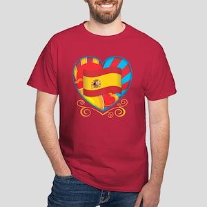 Spanish Heart Dark T-Shirt