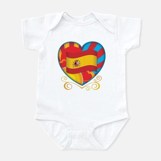 Spanish Heart Infant Bodysuit