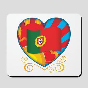 Portugese Heart Mousepad