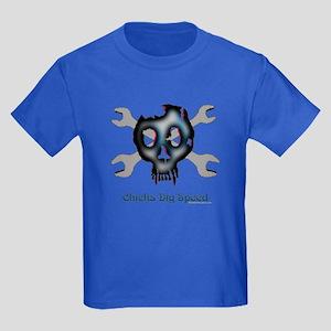 Chicks dig speed Kids Dark T-Shirt