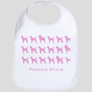 Poodle Style: Pink Bib