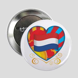 "Dutch Heart 2.25"" Button"