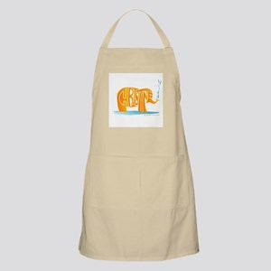 Christine (Orange Elephant 1) BBQ Apron
