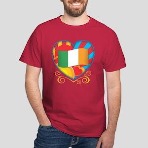 Irish Heart Dark T-Shirt