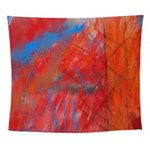 Crazy Vibrance Abstract Wall Tapestry