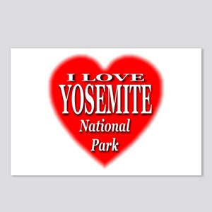 Yosemite National Park Postcards (Package of 8)