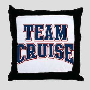 Team Cruise Personalized Custom Throw Pillow