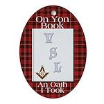 My Oath on the VSL Oval Ornament