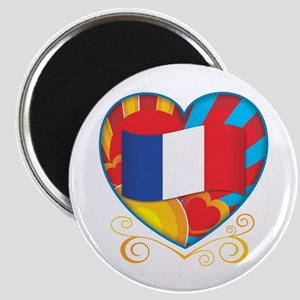 French Heart Magnet