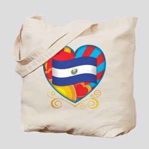 Salvadoran Heart Tote Bag
