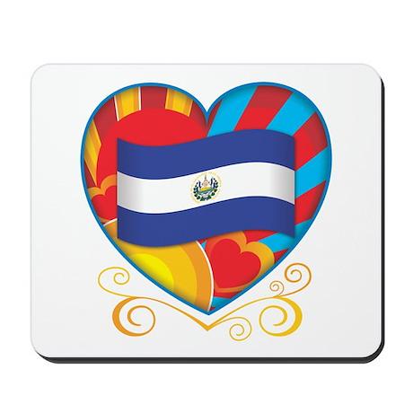 Salvadoran Heart Mousepad