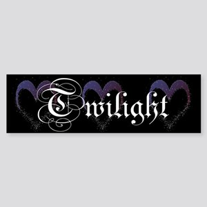 Twilight Sparkle Heart Bumper Sticker