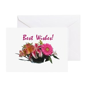 Best wishes greeting cards cafepress m4hsunfo
