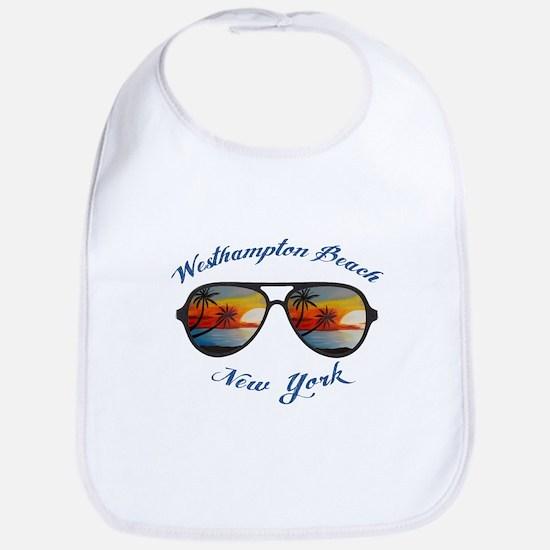 New York - Westhampton Beach Baby Bib