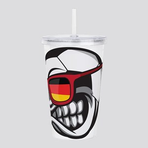 Germany Angry Soccer B Acrylic Double-wall Tumbler