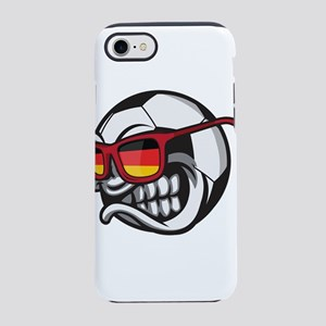 Germany Angry Soccer Ball wi iPhone 8/7 Tough Case