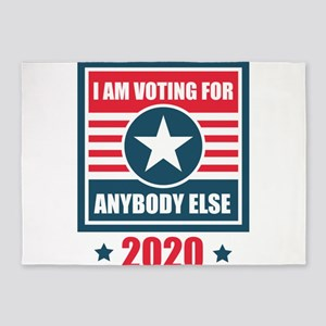 Voting For Anybody Else 2020 US Ele 5'x7'Area Rug